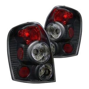 For Mazda Protege 1999 2002 Cg Black red Euro Tail Lights