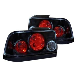 For Toyota Corolla 1993 1997 Cg Black red Euro Tail Lights