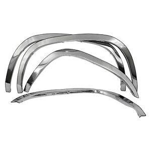 For Toyota Tacoma 1995 2004 Carrichs Ftto201 Polished Front Rear Fender Trim