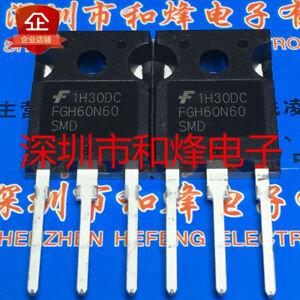 10pcs Fgh60n60smd To 247