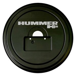 For Hummer H2 05 09 Tire Cover 35 Rigid Series Black Spare Tire Cover W License