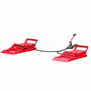 Titan Hydraulic Car Lift Ramps 3 000 Lb Capacity