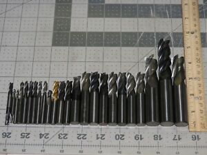 5 Pounds Scrap Carbide Drill Bits 24 Pieces Used And May Be Damaged Lot 1