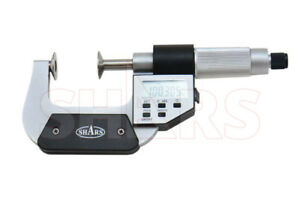 1 2 Electronic Disc Micrometer New
