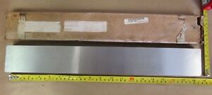 O1 Steel Sheet 1 X 2 1 2 X 18 Travers Tool Ground Stock Oil Hardening