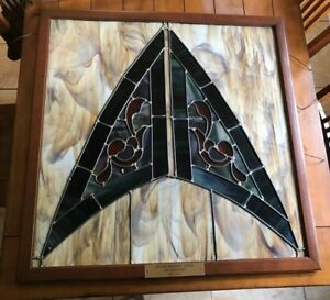 Antique Lead Stained Glass Panel Window From Church Vintage 1906 Rare
