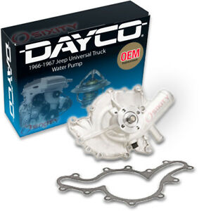 Dayco Water Pump For Jeep Universal Truck 1966 1967 3 7l V6 Engine Tune Up Oi