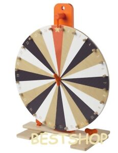 Ikea Tabletop 15 Prize Wheel Spinner 24 Slots Numbers colours Symbol Spin Game