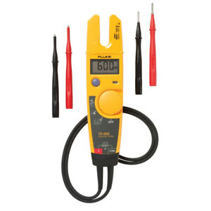 Fluke 600v Voltage Continuity And Current Tester T5 600