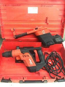 Hilti Rotary Hammer Drill Te 5 Corded Electric Drill W dust Removal System Bit