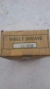 Woods 4 Groove V belt Sheave 5 8x4b sd