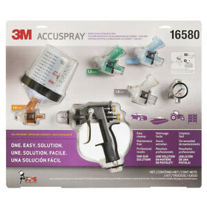 3m Accuspray Spray Gun System With Standard Pps 16580
