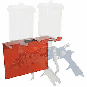 Aes Industries Magnetic Spray Gun Holder Dual 166