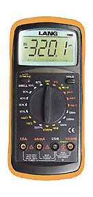 Lang Automotive Digital Multimeter Kit 13803