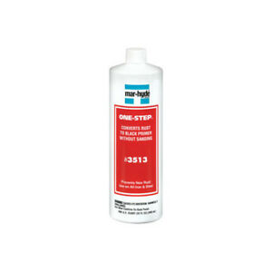 Mar Hyde 3513 One Step Rust Converter Primer Sealer Quart