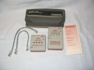 Progressive Electronics Inc Model 468 Modular Cable Tester With 468r And 468t