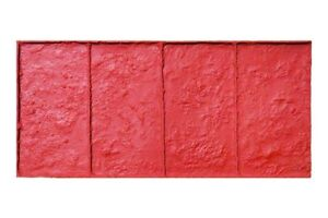 Limestone Brick Single Concrete Stamp For Borders By Walttools