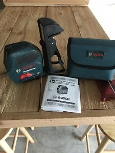 Bosch Gll 50 Self leveling Cross line Laser Slightly Used