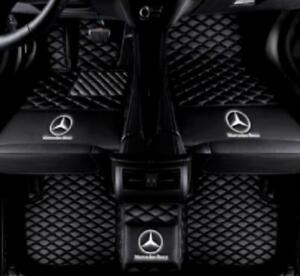 For 2005 2018 Mercedes benz All Models Luxury Custom Waterproof Floor Mats