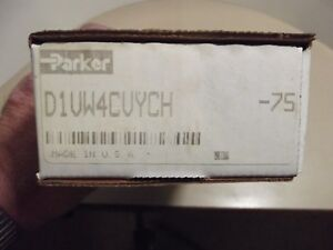 Parker Hydraulic Valve D1vw4cvych 75 Sealed In The Box New