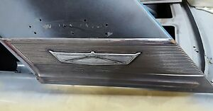 1964 Ford Fairlane 500 Roof Pillar Sail Panel Trim Sports Coupe Thunderbolt 427