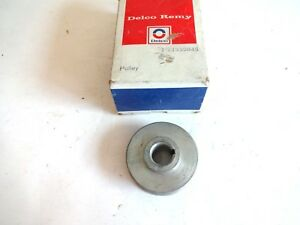 Alternator Pulley 1969 1979 Buick Cadillac Oldsmobile Nos 2 1 4 Inch 1 Groove