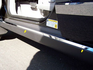 For 2003 2007 Saturn Vue 4 door Suv 4 Pc Ss Door Sill Rocker Trim