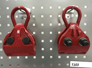 2 Pcs Mo Clamp Mcl4030 Style Self Tightening Grip Pull Heavy Duty Clamp Red