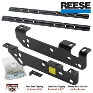 50074 58 Reese Fifth Wheel Hitch Brackets Rails For Ford Super Duty 2017 2019