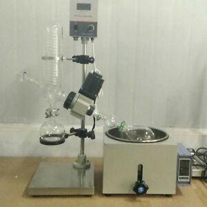 Re201d 1l Mini Lab Supplier Glass Rotary Evaporator Vacuum Distillation W Rotary