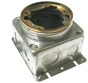 Hubbell raco 6255 54 Cubic Inch Round Fully Adjustable Concrete Floor Box