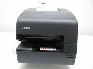 Epson Tm h6000iv M253a Pos Thermal Printer Power Plus usb 7 0 No Power Cord