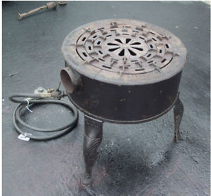 Vintage Savage Brothers Bros Number 10 Propane Outdoor Gas Candy Stove Cooker
