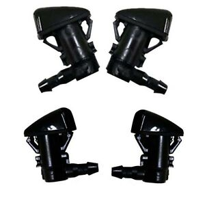 Windshield Wiper Washer Fluid Nozzle Jets For 2011 2015 Ford F250 F350 F450 F550