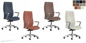 Quantity Of 10 Made In Usa Chairs Modern High Back Conference Office Desk Chair