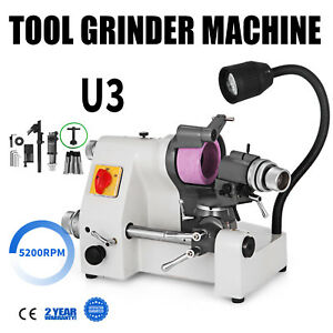 U3 Universal Tool Cutter Grinder Machine Low Noise Tool Grinding 5 Collets