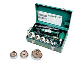 Greenlee 7506 Hydraulic Knockout Punch Kit Bundle W 7308 Punches And Dies Kit