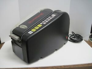 Marsh Td2100 Paper Gum Tape Dispenser Black Taping Machine