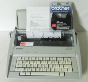 Brother Daisy Wheel Electronic Correcting Typewriter Gx 6750 Tested