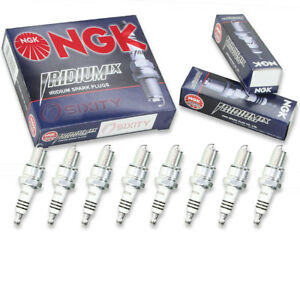 8 Pcs Ngk Iridium Ix Spark Plugs For 1977 1978 Aston Martin Lagonda 5 3l V8 Hp