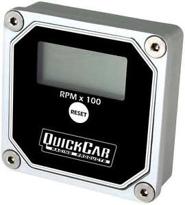Quickcar Racing Products 15000 Rpm Quicktach Digital Tachometer P n 611 100