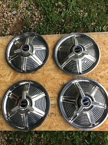 Ford Mustang Hubcaps Set Of 4