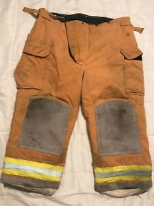 Lion Bodyguard Firefighter Turnout Gear Bunker Turnout Pants W Liner 44 X 28