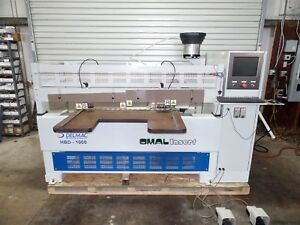 2008 Omal Insert Hbd1000 Cnc Dowel Boring Machine 2 Horizontal And Two Top Drill