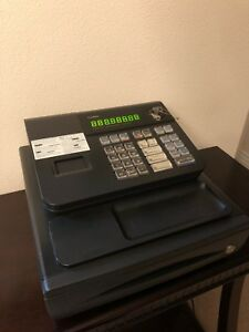 Casio Pcr 272 Electronic Cash Register With New Ink Installed 3 New Ink s