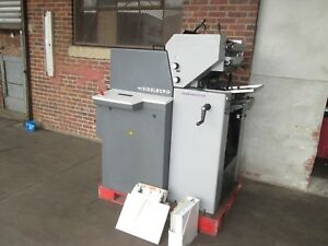 Heidelberg Print Master Qm 46 2 Cd 2 Color 1999 Clean Machine