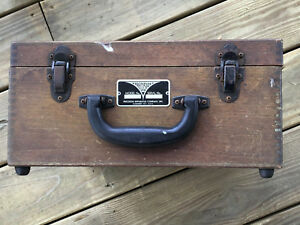 Old Vtg Precision Apparatus Company Inc Model No 912 Electromagnetic Tube Teste