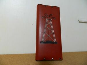 100 Real Leather Tally Book For Oilfield Notes B B