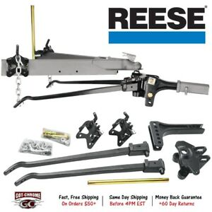 66541 Reese High Performance Trunnion Bar Weight Distributing Hitch 15 000 Lbs