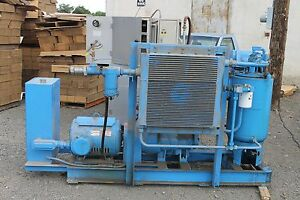 Nice Quincy Northwest Air Compressor Qnw 242 d a 50hp 230 460v